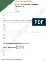 Maths Test 24 Solved 1