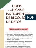 Métodos e Instrumentos para investigación de tesis