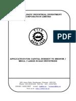 Mega Subsidy Application Form