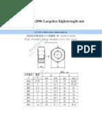 Nut Dim_Specification en 4399; BS 4395