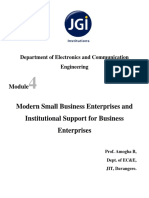 Management Entrepreneurship and Development Notes 15ES51