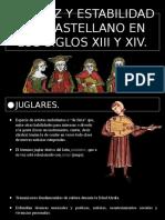 Estabilidad del Castellano en los siglos XIII y XIV - Javier Guerrero.