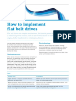 Ctl024 How Implement Direct Flat Belt Drives