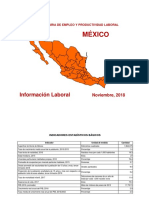 perfil del empleo en mexico 2018
