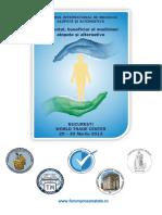 Program Stiintific Forum