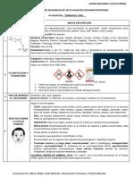 Taller_ FDS de Un Plaguicida Organofosforado
