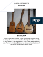 Musical Instruments Rondalla 1x1 (Recovered)