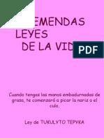 LeyesdelavidaMai
