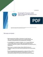 PresentacionInversionistas2009-260210