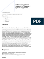 The Role of the Montreal Cognitive Assessment (MoCA) and Its Memory Tasks for Detecting Mild Cogniti