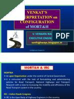 Venkats Interpretation on Configuration of MORTH