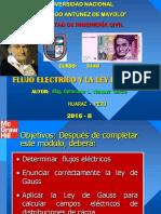 Flujo Electrico y La Ley de Gauss Fic 2015-II-1
