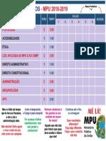 Ciclo de Estudos - MPU - 2018-2019