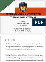 Perbandingan Antipsikotik Tipikal Dan Atipikal