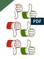Classroom Management Tools - Thumbs Up