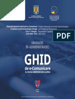 Ghid de E_Comunicare La Nivelul Administratiei Publice