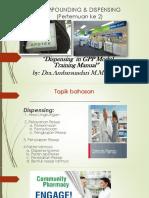 02.C&D Good Dispensing Practice (I).Pptx