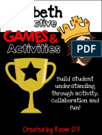 Macbeth Interactive Games Activities