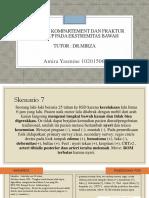 PPT BLOK 29 AMIRA SKENARIO FRAKTUR TERTUTUP TIBIA DAN SINDROM COMPARTEMENT CRURIS DEXTRA