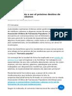 Chile Candidato a Ser El Próximo Destino de Los Médicos Cubanos