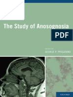 The Study of Anosognosia