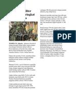 Kekuatan Militer Indonesia Peringkat Keempat Asia