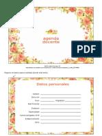 Agenda Docente 6 Editable