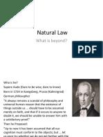 Filhum Natural Law