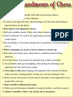 64 Commandments of Chess