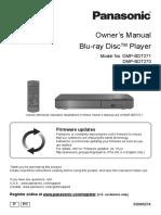 Blu-ray DiscTM Player PANASONIC