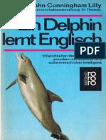 John Cunningham Lilly Ein Delphin Lernt Englisch German