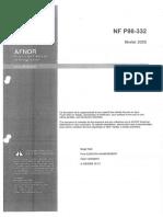 Reseaux Enterrés - NF P 98-332