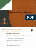 Finance Presentation Consumer Briefing