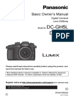 Lumix Gh5 4k Mirrorless Camera PANASONIC