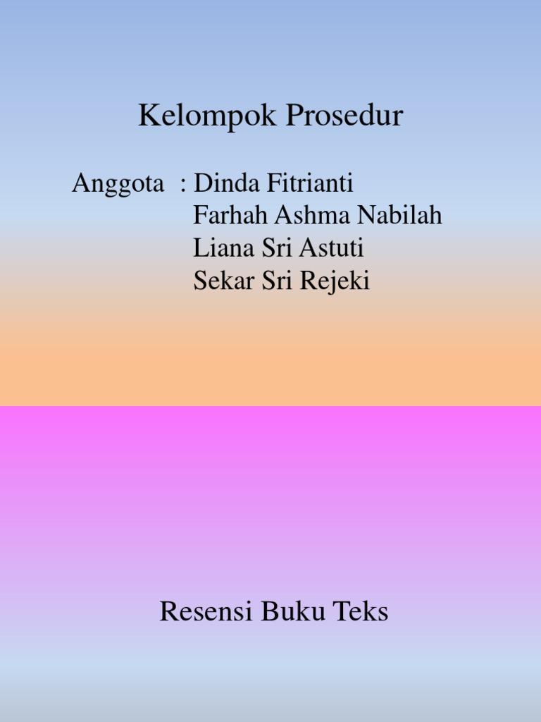 RESENSI Buku Non Fiksi (Teks)