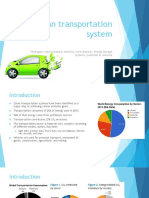 Clean energy transport systems