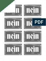 Secret Hitler Si y No en Aleman
