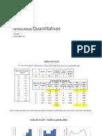 Estatística bi variada e uso de Excel para construção de gráficos estatísticos