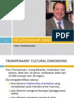 Kultur - Trompenaars