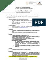 Normas y Plantilla de Presentación Trabajos Técnicos - PERUMIN 34 w