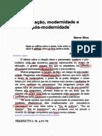 texto 4-educacaomodernidadeeposmodernidade.pdf