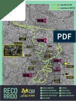 Mapa 21k - Maratón Nocturna