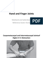 Hand and Finger Joints