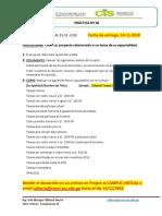 Práctica MS project