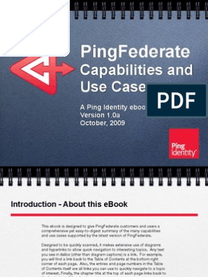 Ping Federate Product Guide | Software As A Service
