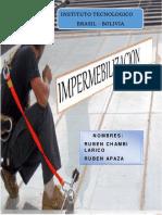 Informe de Impermeabilizacion 2do Semestre