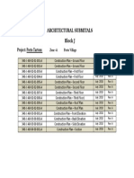 Architectural Submitals-block j