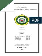 Cover Makalah Kdm