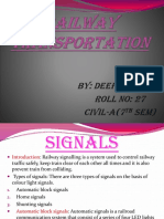 Ppt on Railway Trans