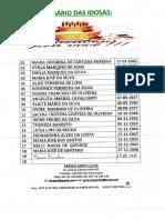 Calendario de Aniversariantes Abrigo Santa Luiza